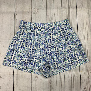 Skies are Blue pull on elastic waist shorts A1